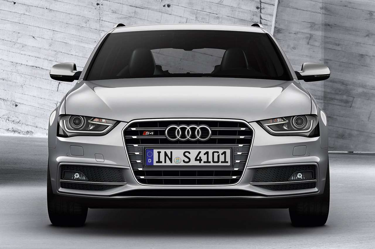 Audi S4Avant/Standaufnahme