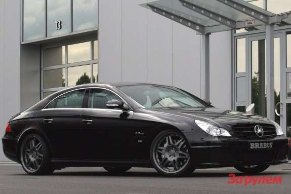 Brabus Mercedes-Benz CLS B63 S side-front view