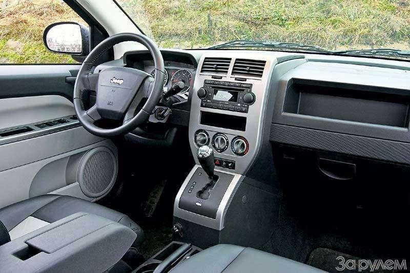 Тест Jeep Compass, Kia Sportage. Смешать, ноне взбалтывать— фото 70579