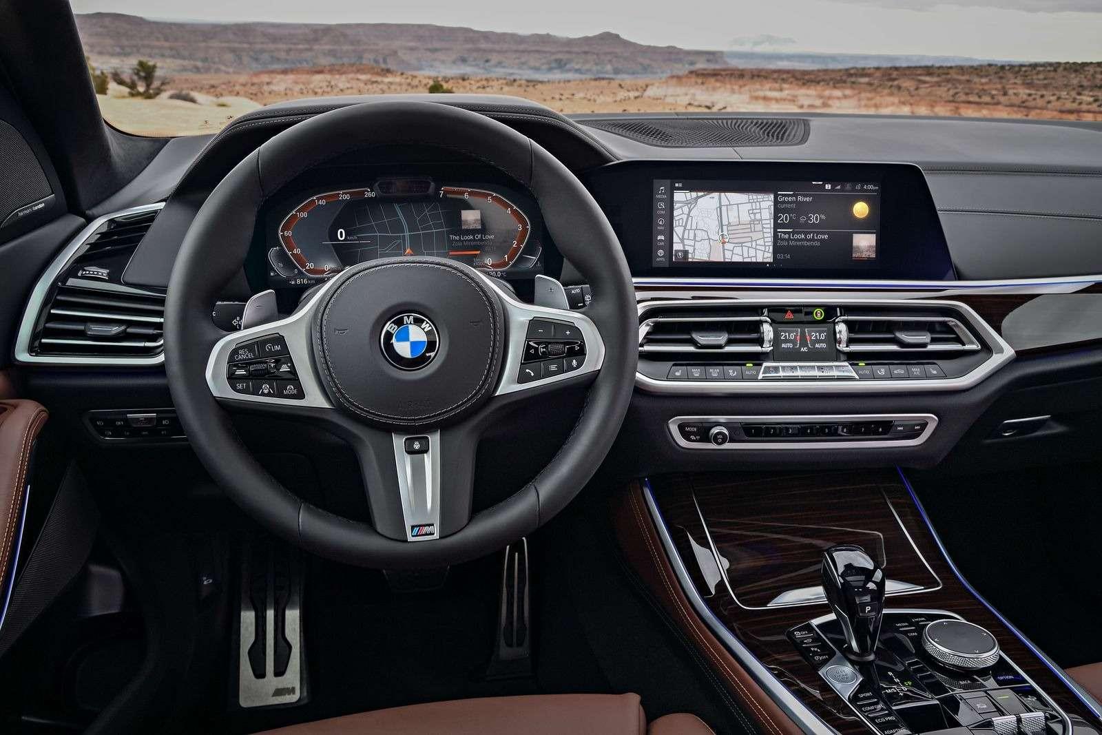 Новый BMW X5: приборная революция!— фото 876645