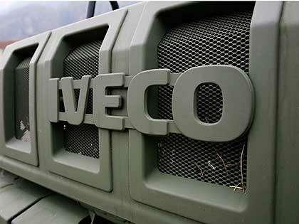 МВДзаказало разработку бронированного грузовика Ivecо дляспецназа