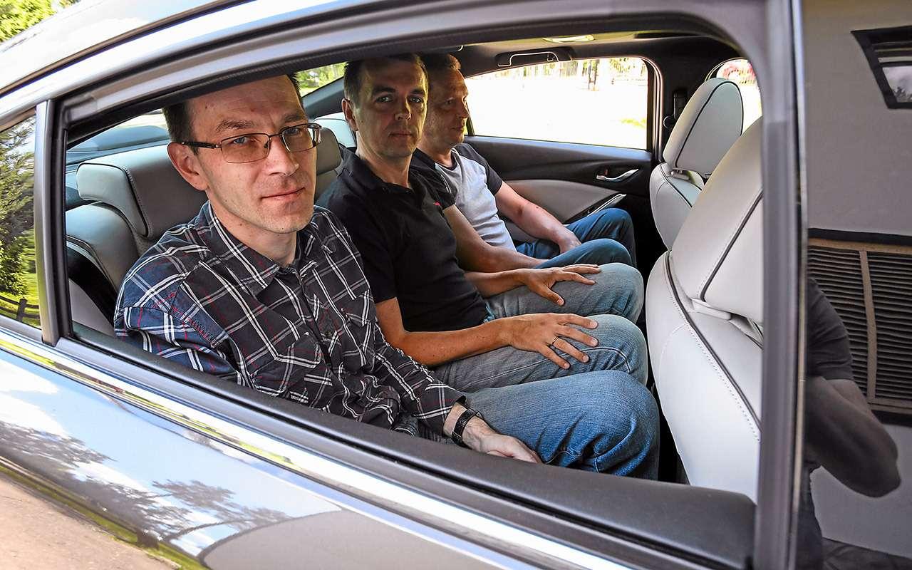 Toyota Camry против конкурентов— сравнительный тест— фото 882432