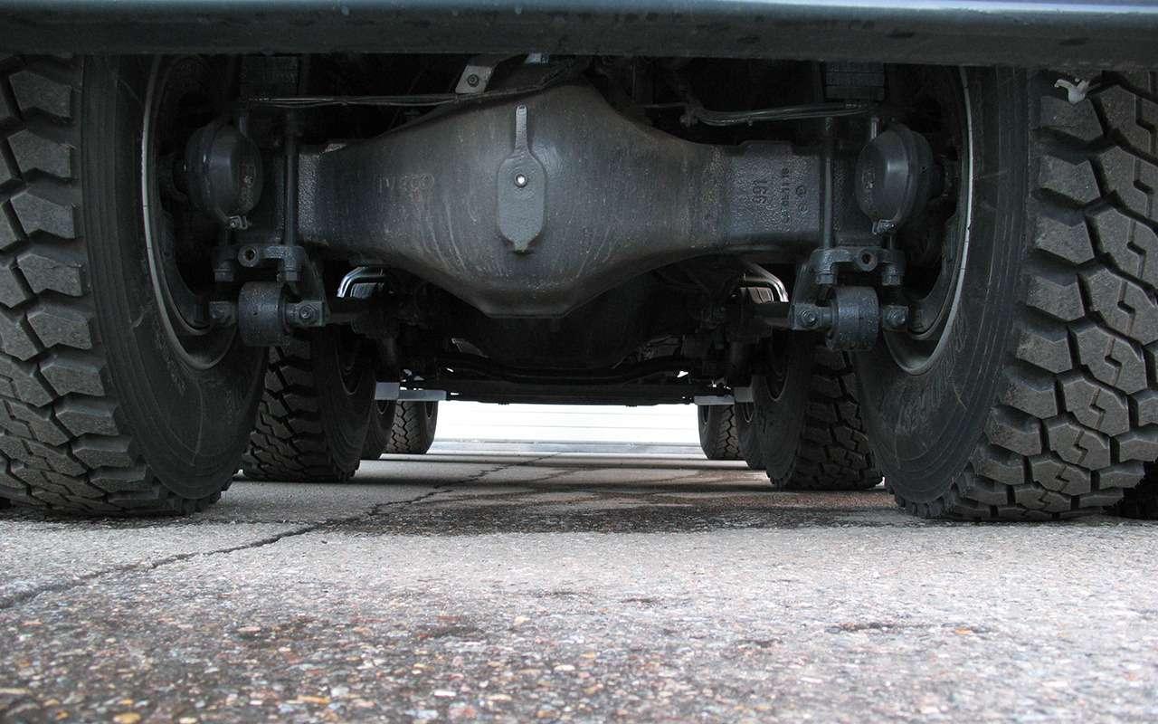 Тяжелые грузовики IVECO Trakker: все особенности— фото 1233451