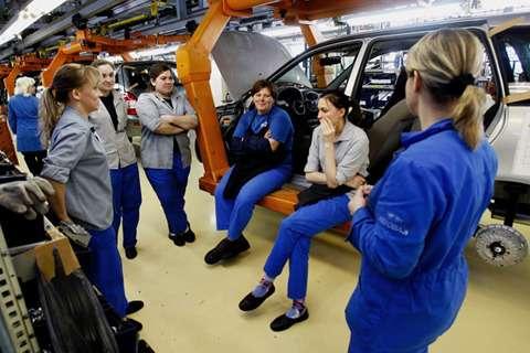 автомобильным заводам вРоссии будут возмещать затраты насодержание рабочих мест, НИОКР, иэлектроэнергию