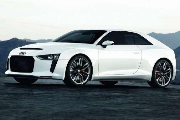 Audi quattro Concept side-front view