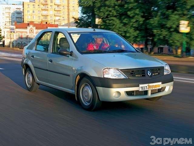 Renault Logan: МОСКОВСКИЙ ХИТ— фото 65923
