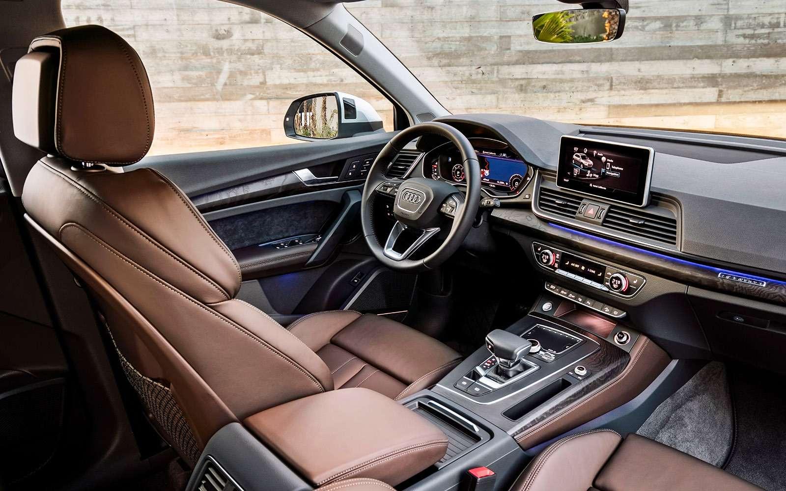 Новый Audi Q5quattro ultra— первый тест— фото 713313
