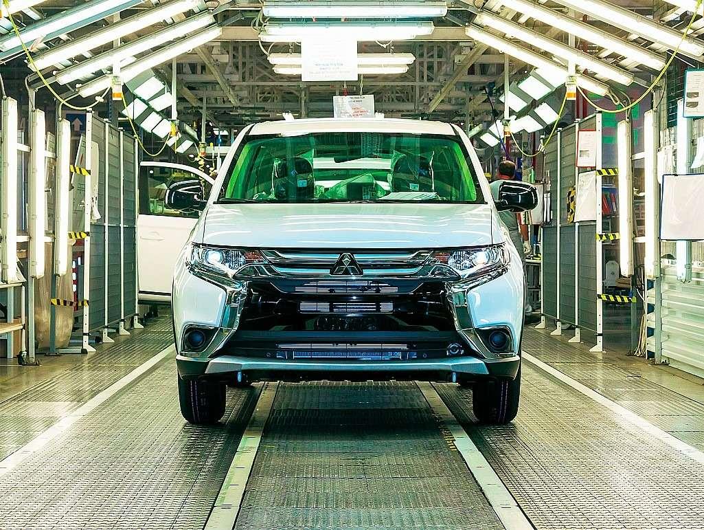 Завод Mitsubishi вКалуге: техника выживания— фото 468021