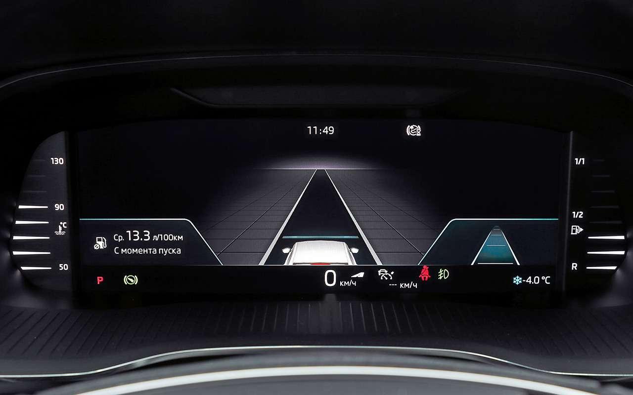 Skoda Octavia, Kia K5, Mazda 6: проверка нажесткость— фото 1221550