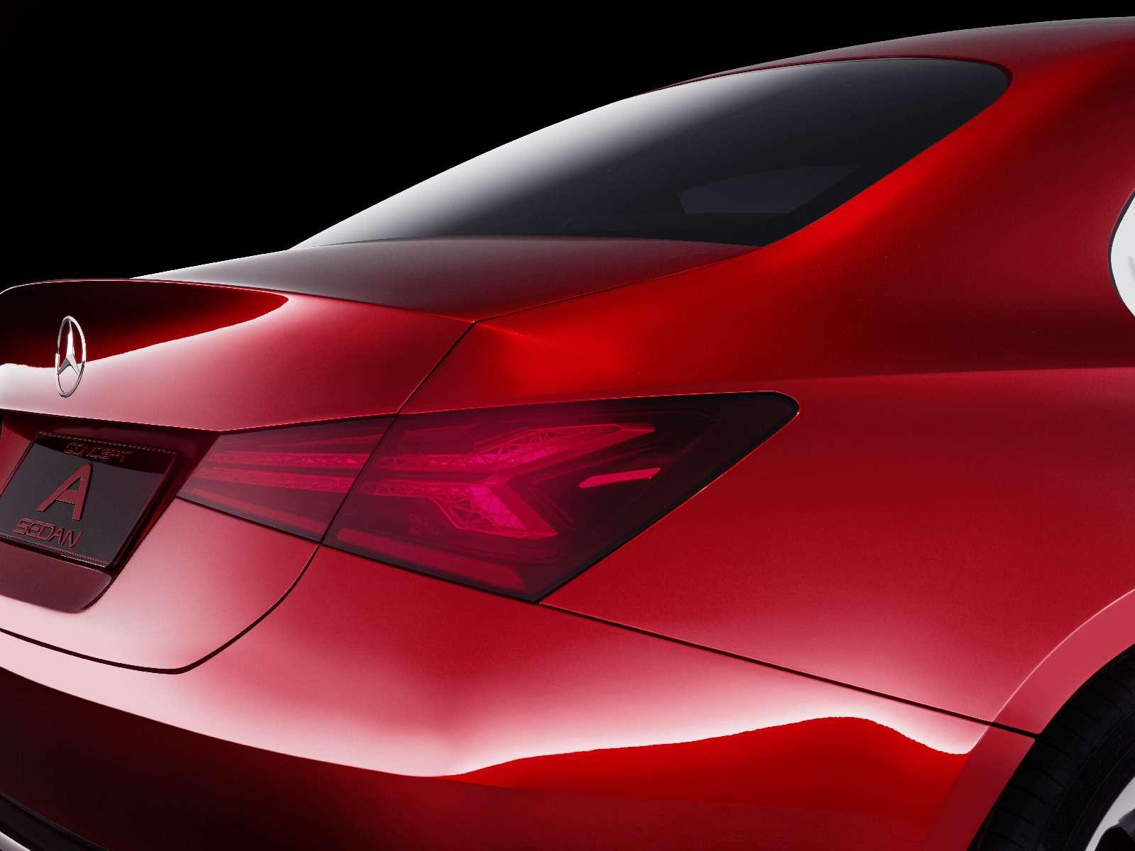 Прямолинейная чувственность: Mercedes-Benz Concept ASedan дебютировал вШанхае— фото 738834
