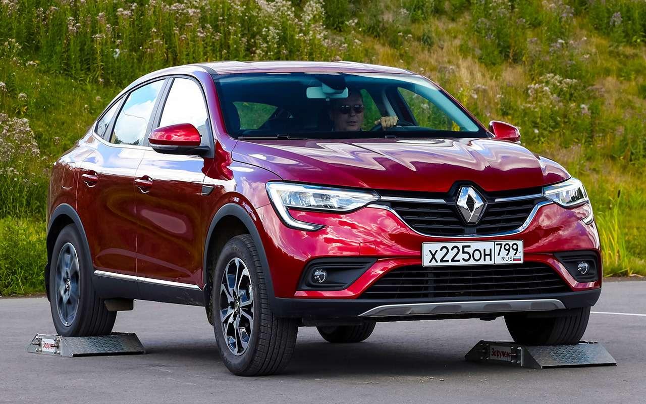 Renault Arkana, Duster, Kaptur: большой тест кроссоверов— фото 996235