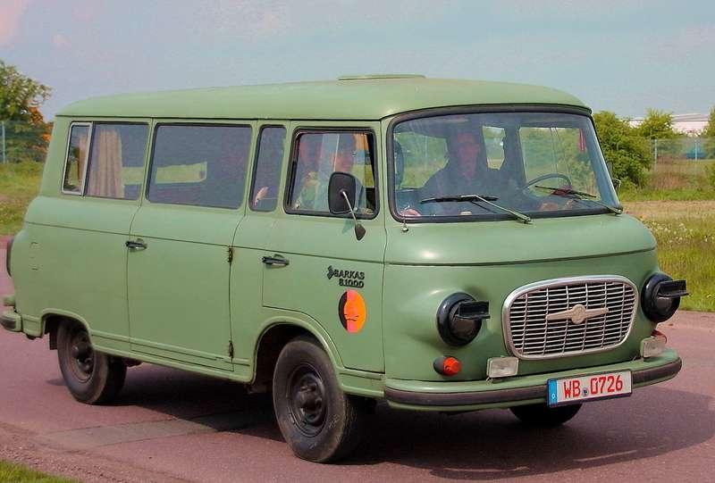 Barkas поставлялся вNVA— национальную народную армию ГДР.