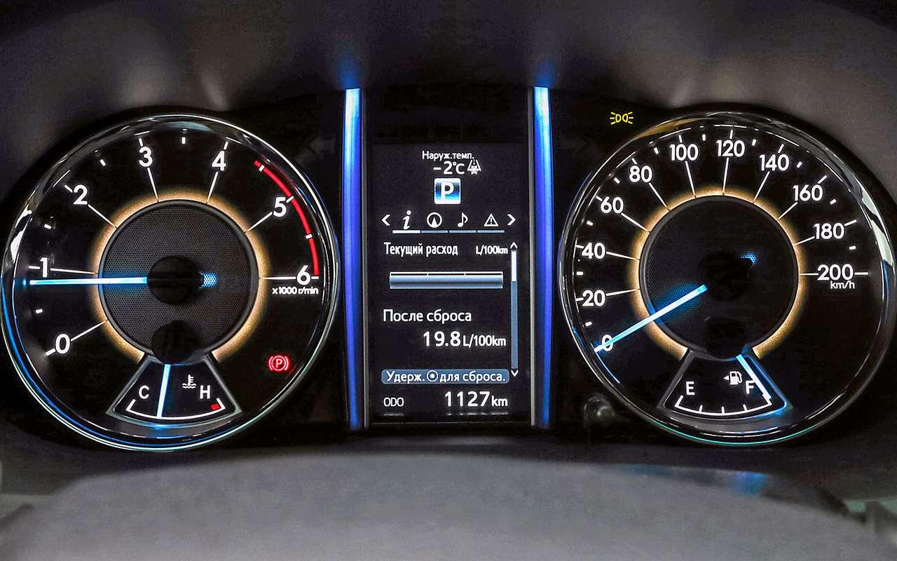 Toyota Fortuner, Mitsubishi Pajero Sport, Kia Mohave  — супертест — фото 855638