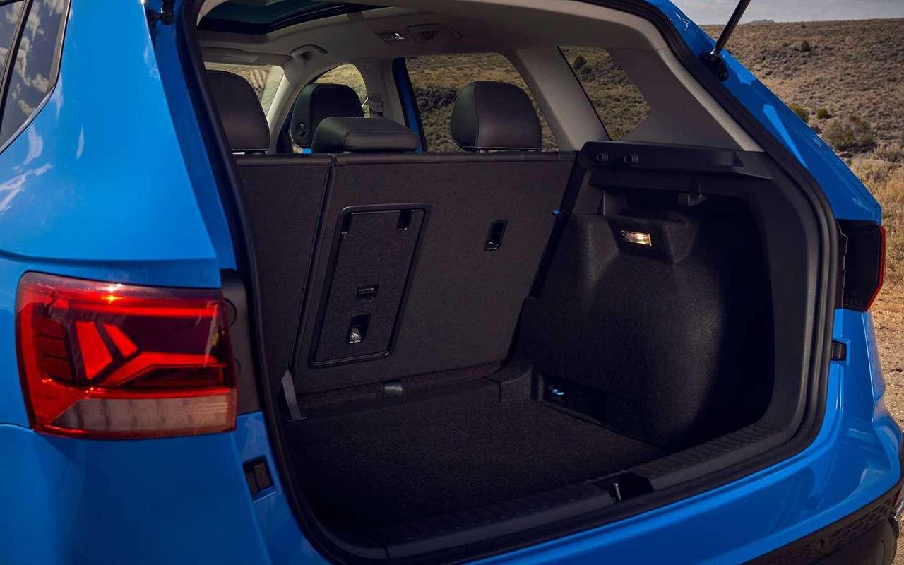 VW Taos: дебют самого маленького кроссовера марки - фото 1192966