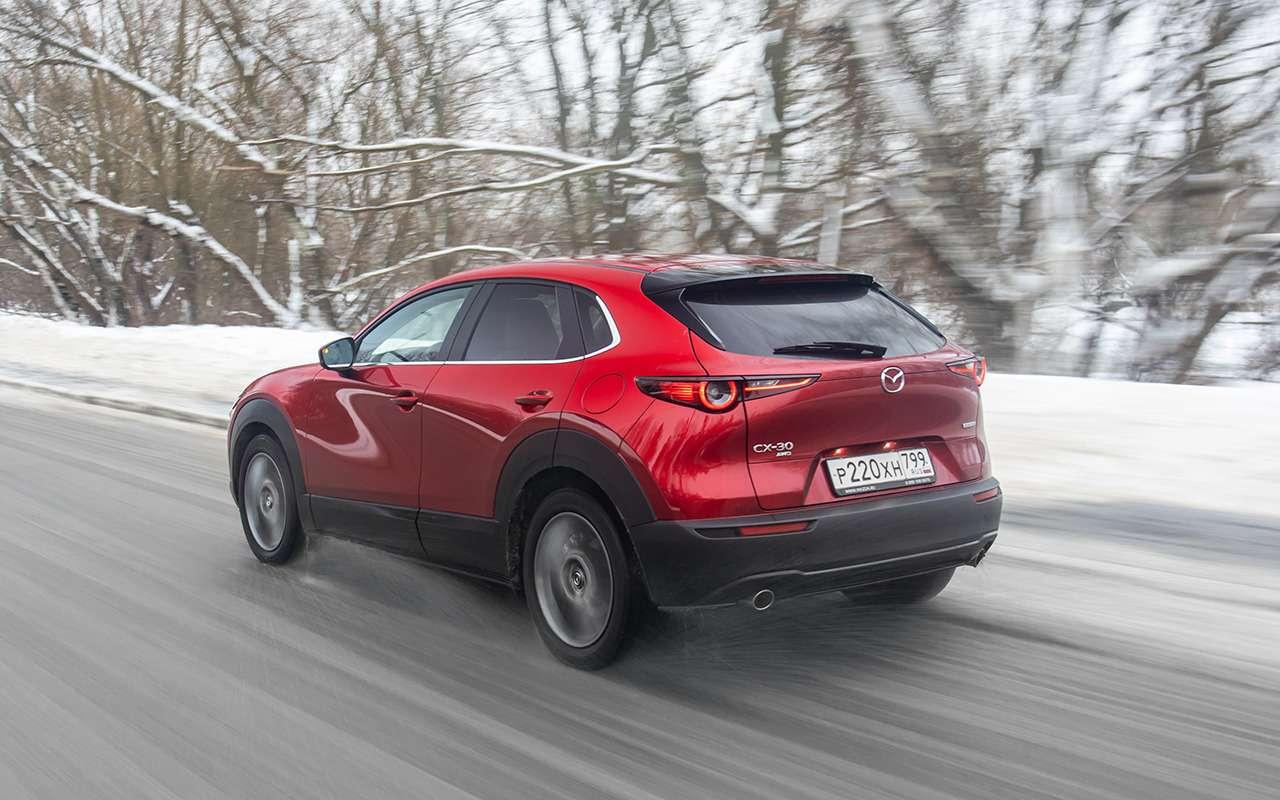 Mazda CX-30: все достоинства иизъяны— фото 1222705