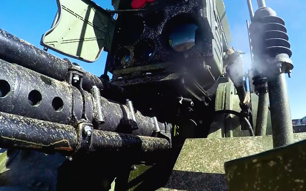 Тест-драйв боевого военного робота «Уран-9»— фото 927701