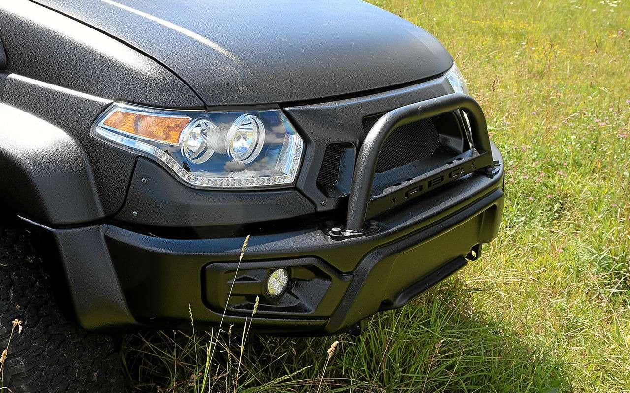 Автодом набазе пикапа УАЗ— подробный обзор— фото 1159477