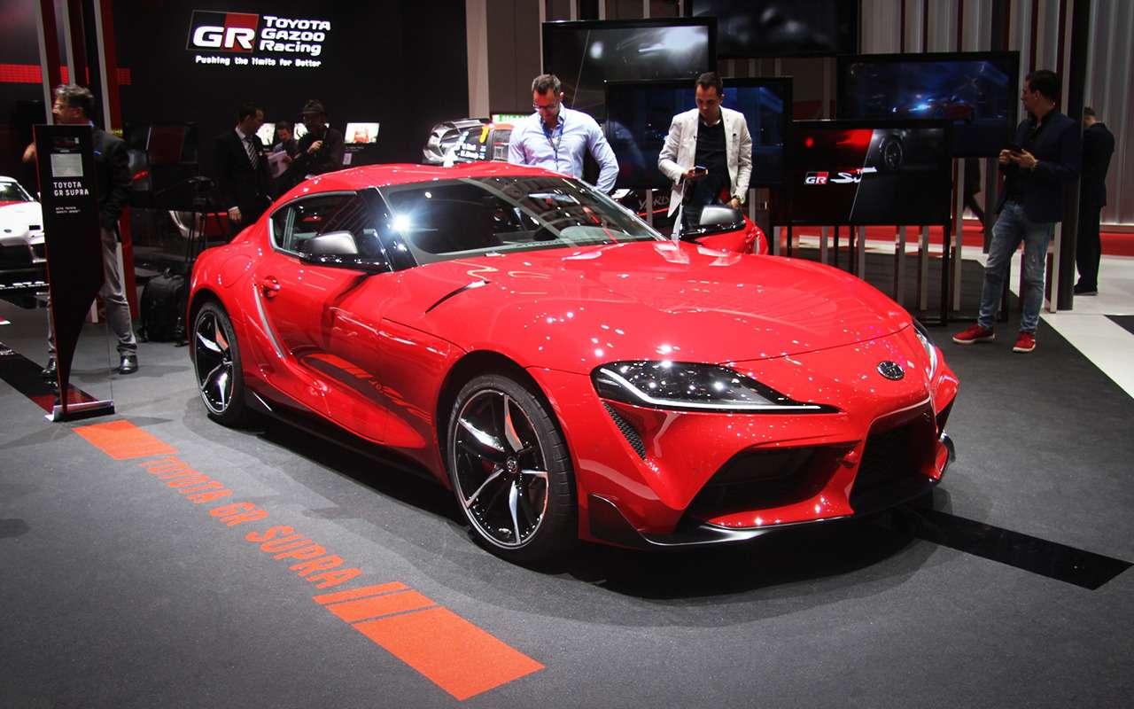 Новая Toyota Supra— легенда возвращается (ивРоссию тоже!)— фото 955298