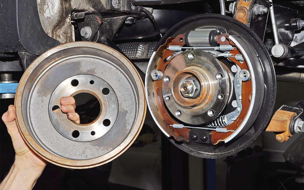 Какие тормоза лучше: барабанные или дисковые?— фото 841464