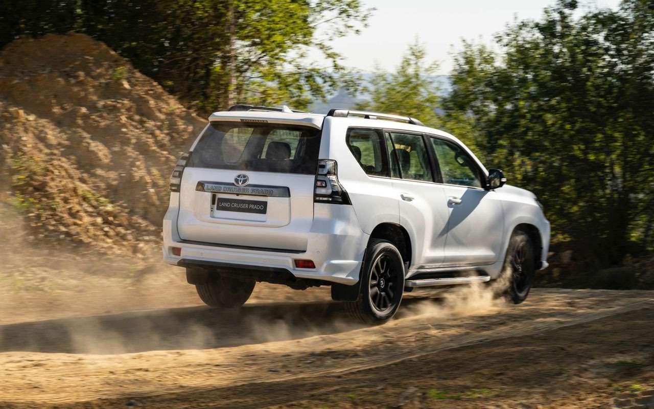 Toyota Land Cruiser Prado обновился истал мощнее— фото 1164204
