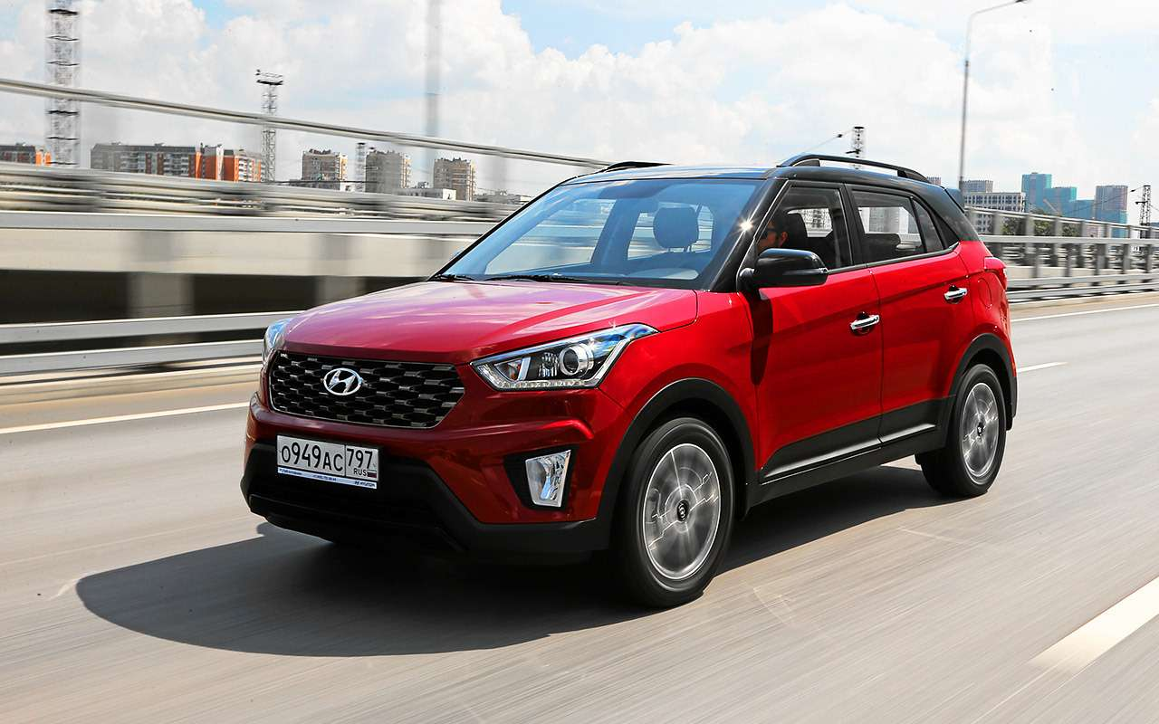 Hyundai Creta 2020: найдите все отличия (ихменьше 10)— фото 1142808