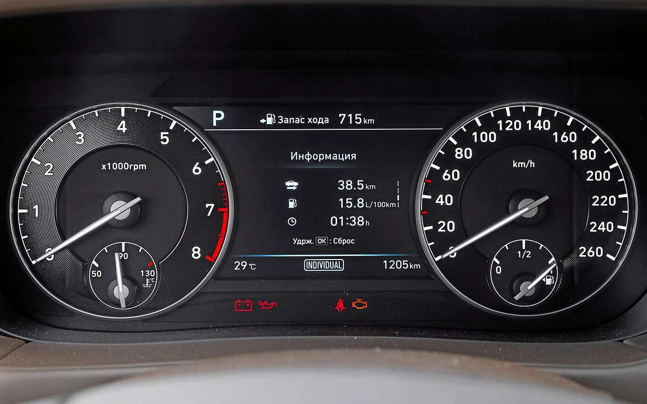 Большой тест престижных седанов: новый Lexus LS500и конкуренты— фото 928750