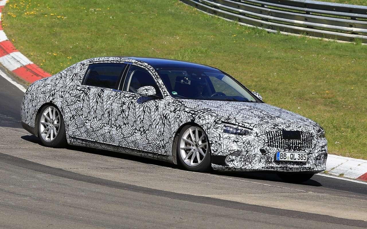 Новый Mercedes-Maybach S-Class тестируют наНюрбургринге— фото 1119232
