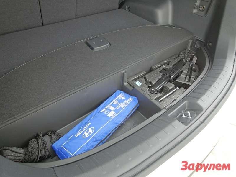 Подполом багажника
