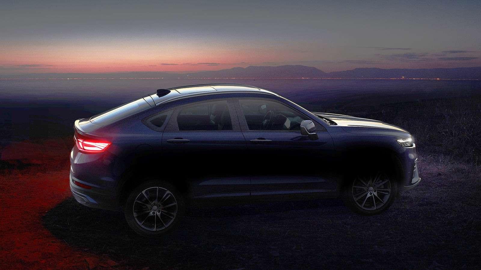 Geely рассекретила конкурента Renault Arkana— фото 941101