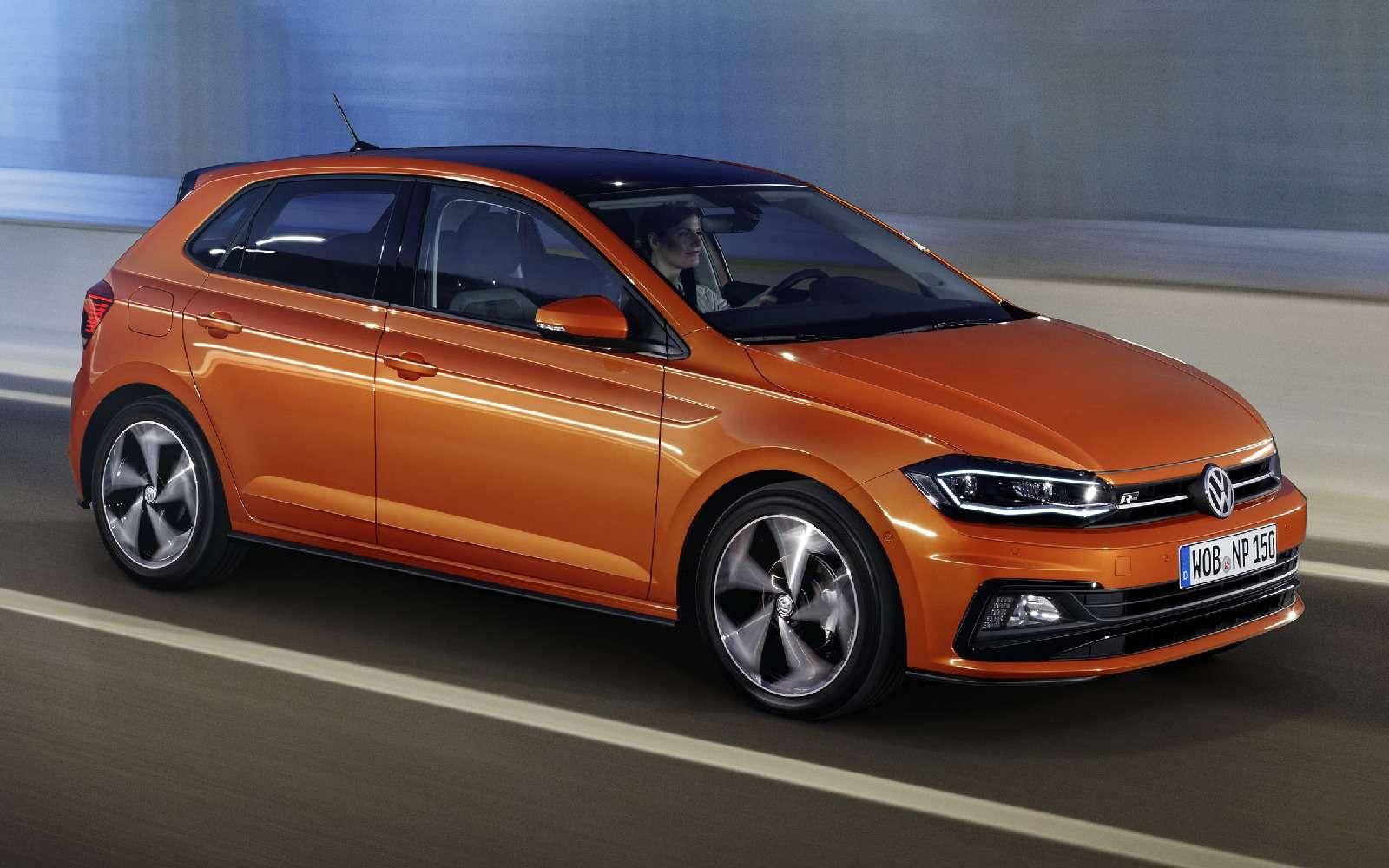 Шестое поколение Volkswagen Polo выйдет в 2018 году