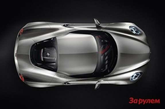 Alfa Romeo 4CConcept Fluid Metal top view