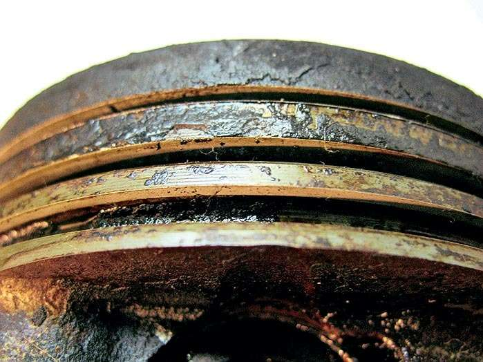 Раскоксовка маслосъемных колец своими руками