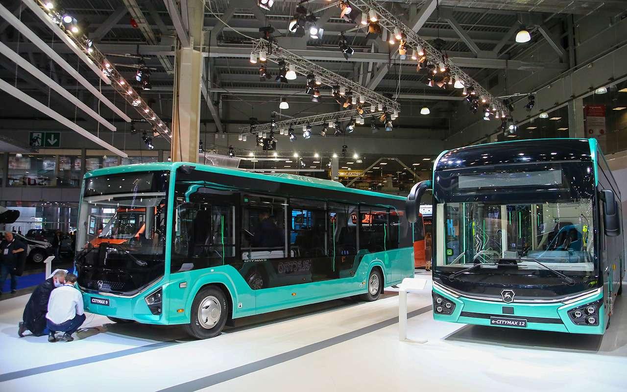 5 перспективных автобусов наCOMTRANS 2021(+троллейбус КАМАЗ)— фото 1276395