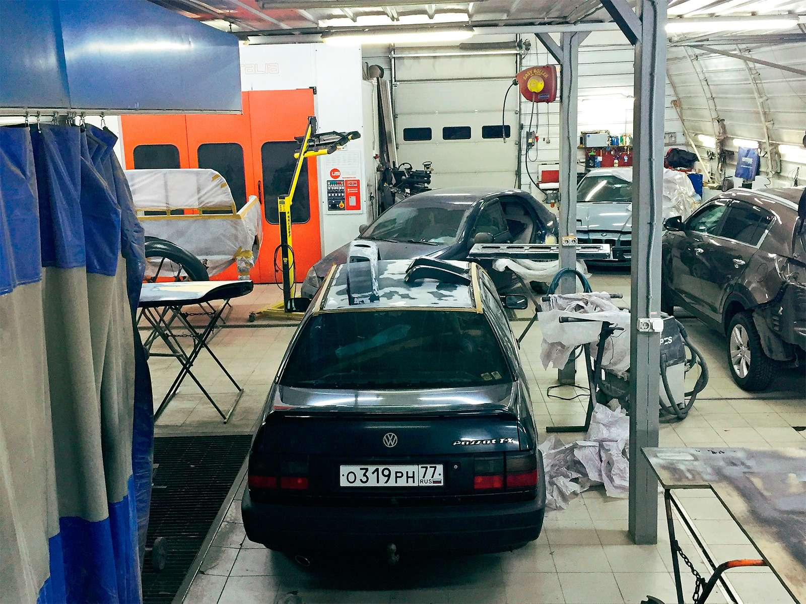 схема сто техстанции по ремонту авто