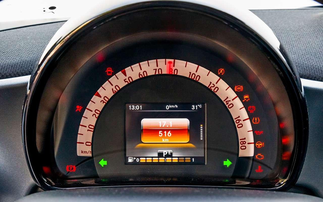 Большой тест маленьких хэтчбеков: Kia Picanto, Datsun mi-DO иSmart ForFour— фото 796017