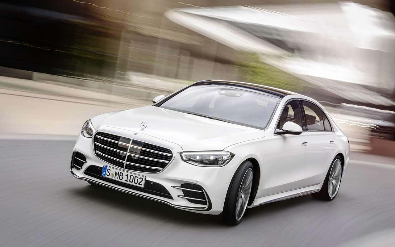 Новый Mercedes-Benz S-Класса наведет порядок дома— фото 1164315