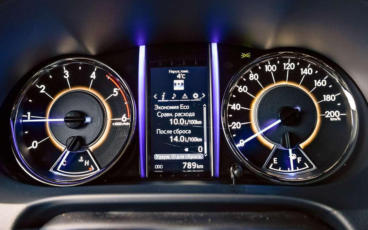 Новый Toyota Fortuner— тест-драйв ЗР— фото 837318