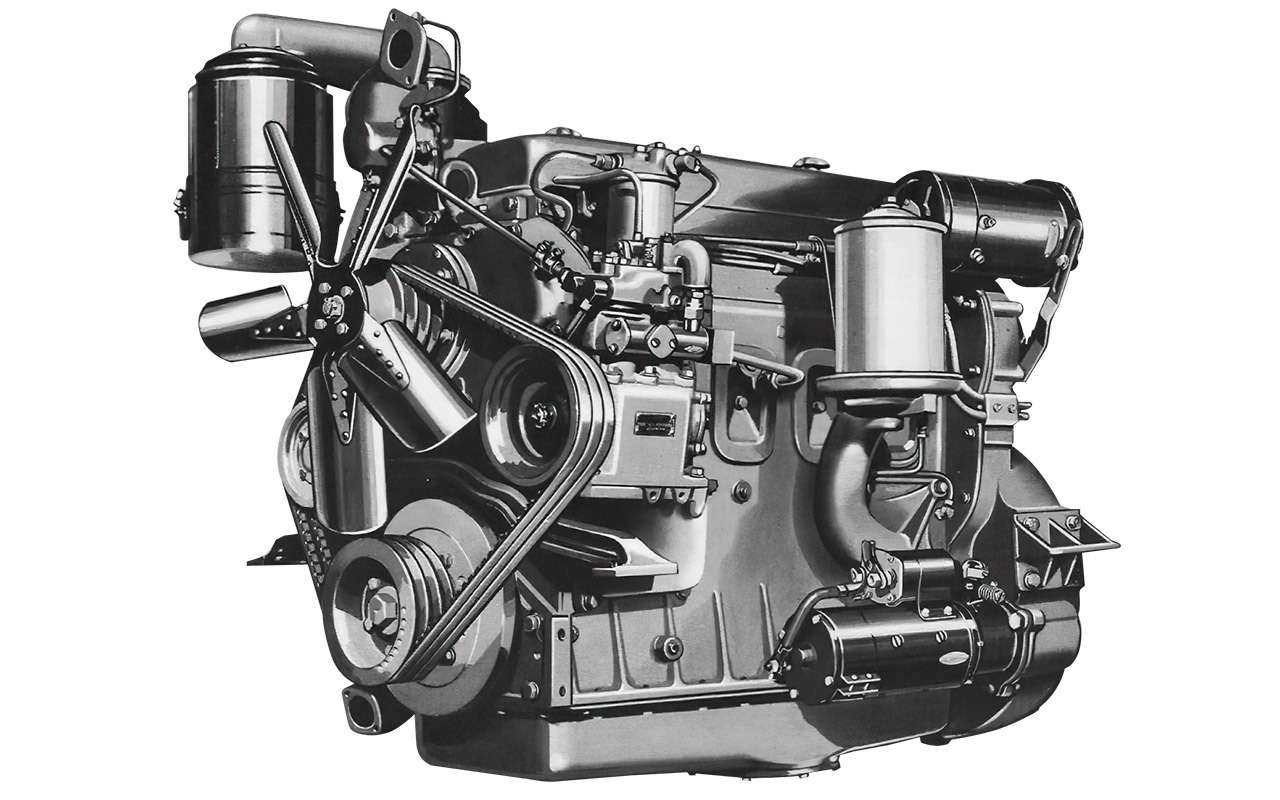 Первый советский дизельный грузовик ЯАЗ-200— родом изАмерики— фото 1255802