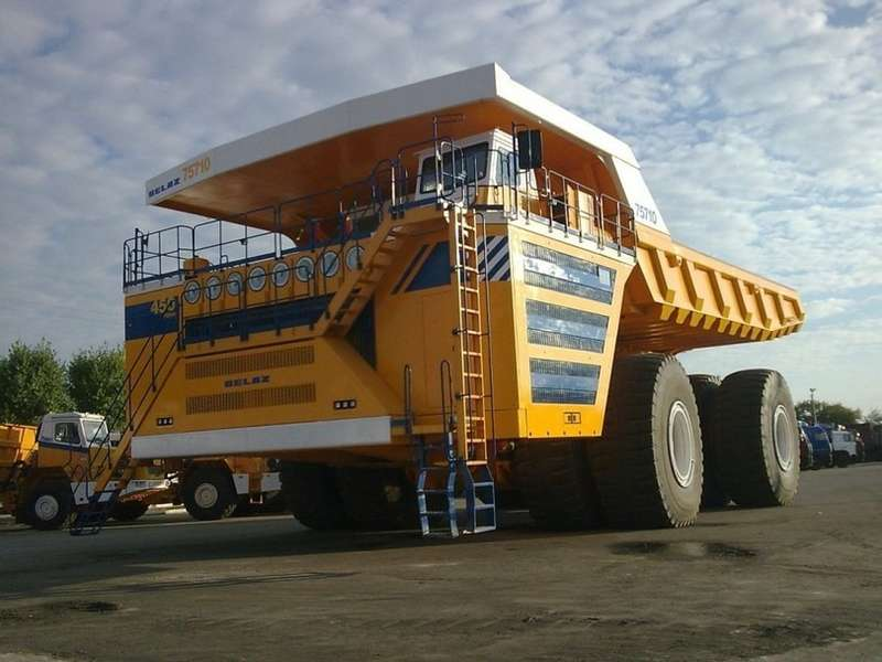 BELAZ 75710 no copyright