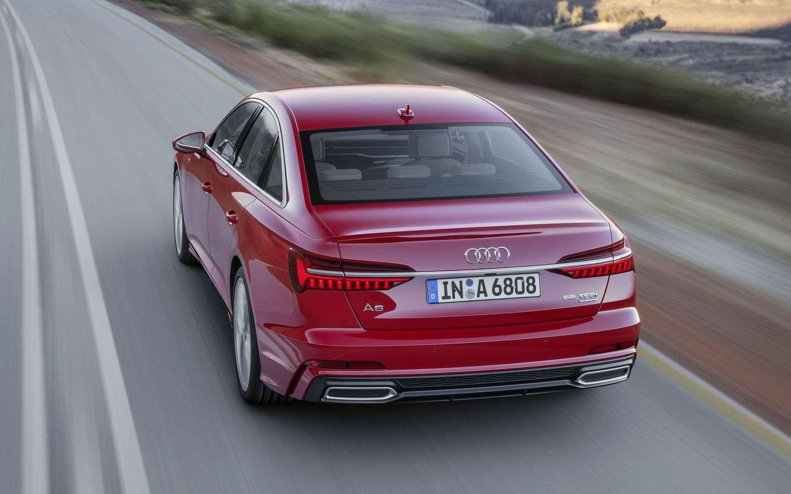 Новый Audi A6: найди десять отличий— фото 849240