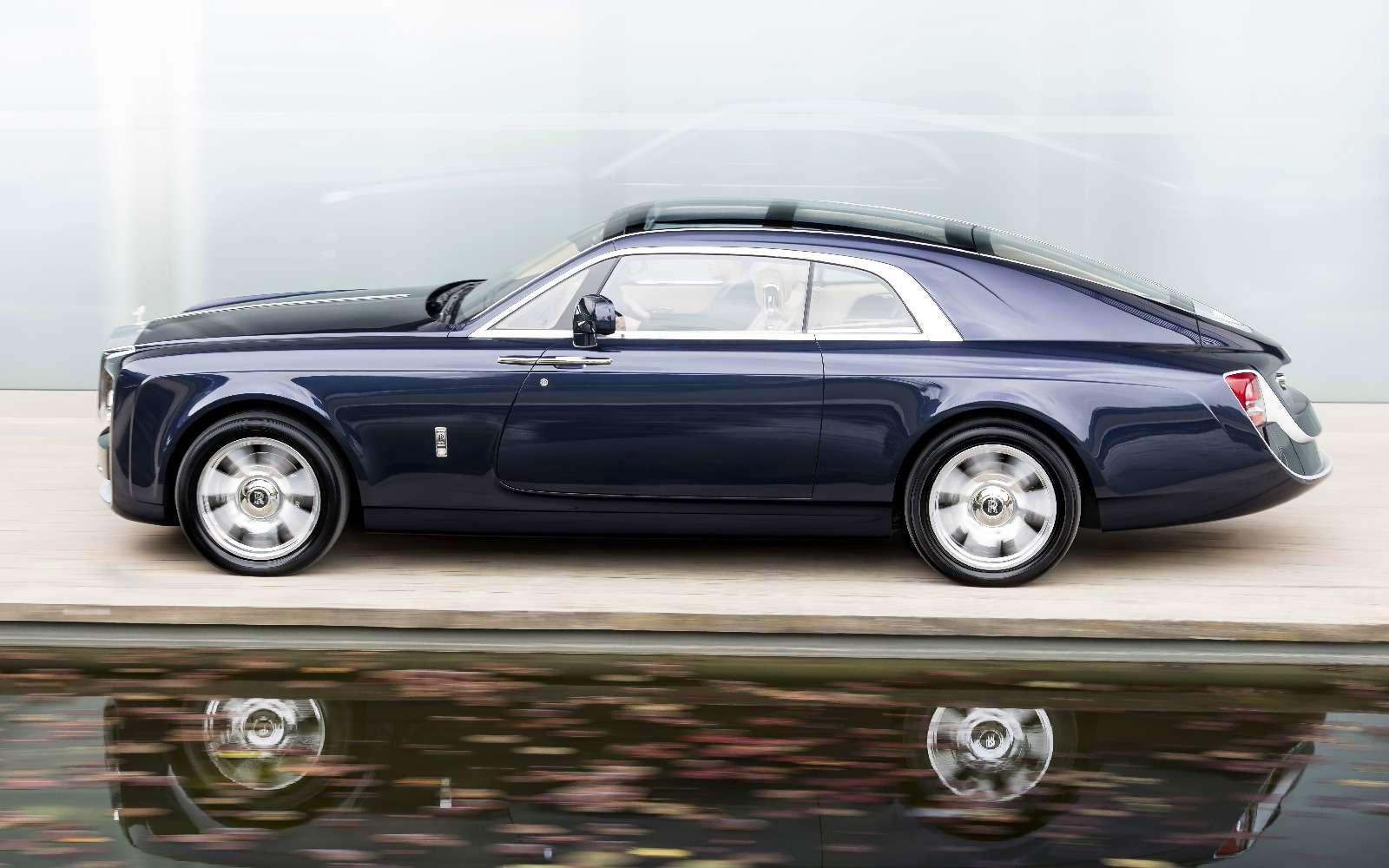 Rolls-Royce Sweptail: хозяин заплатил занего «страшную» цену— фото 757952