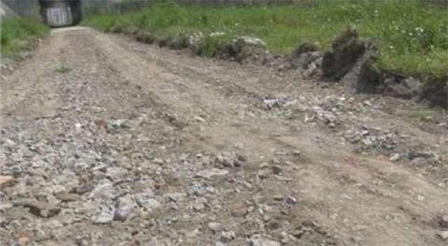 В Китае злоумышленники украли дорогу