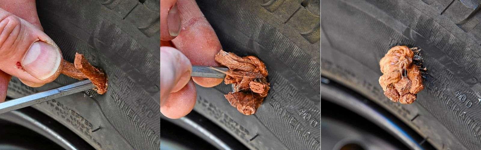 Ремонтируем проколотую шину—  тест 16ремкомплектов исоветы ЗР— фото 771867