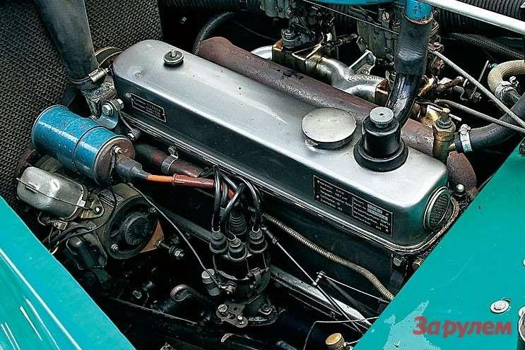 Знаменитая рядная «шестерка» объемом 2л славилась надежностью. Такие моторы после войны ставили инабаварские, инатюрингские автомобили.