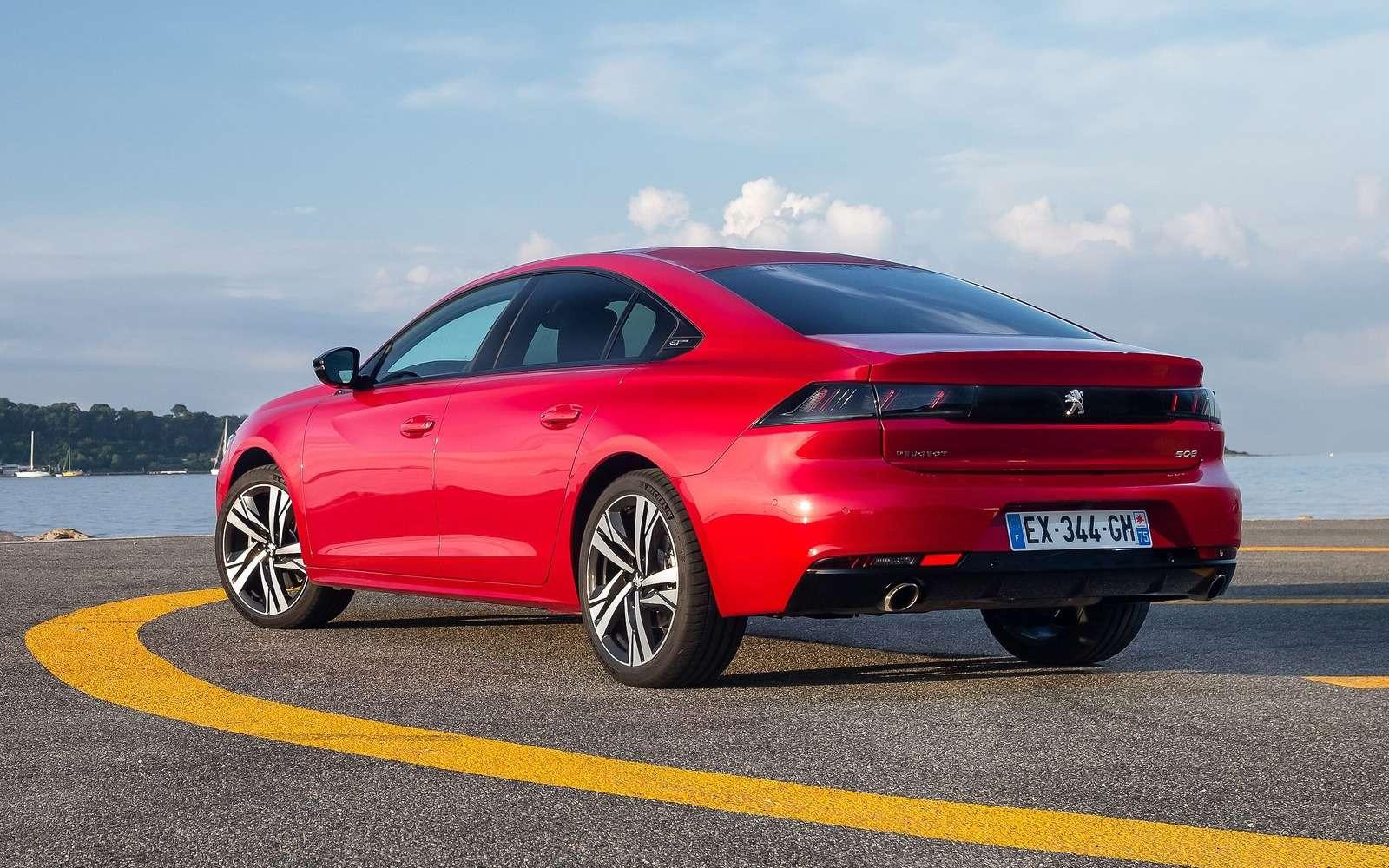 Peugeot привезет седан 508в Россию. Известны все версии— фото 960723