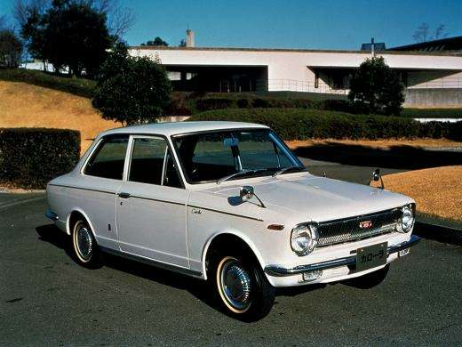 no copyright 1966 old corolla
