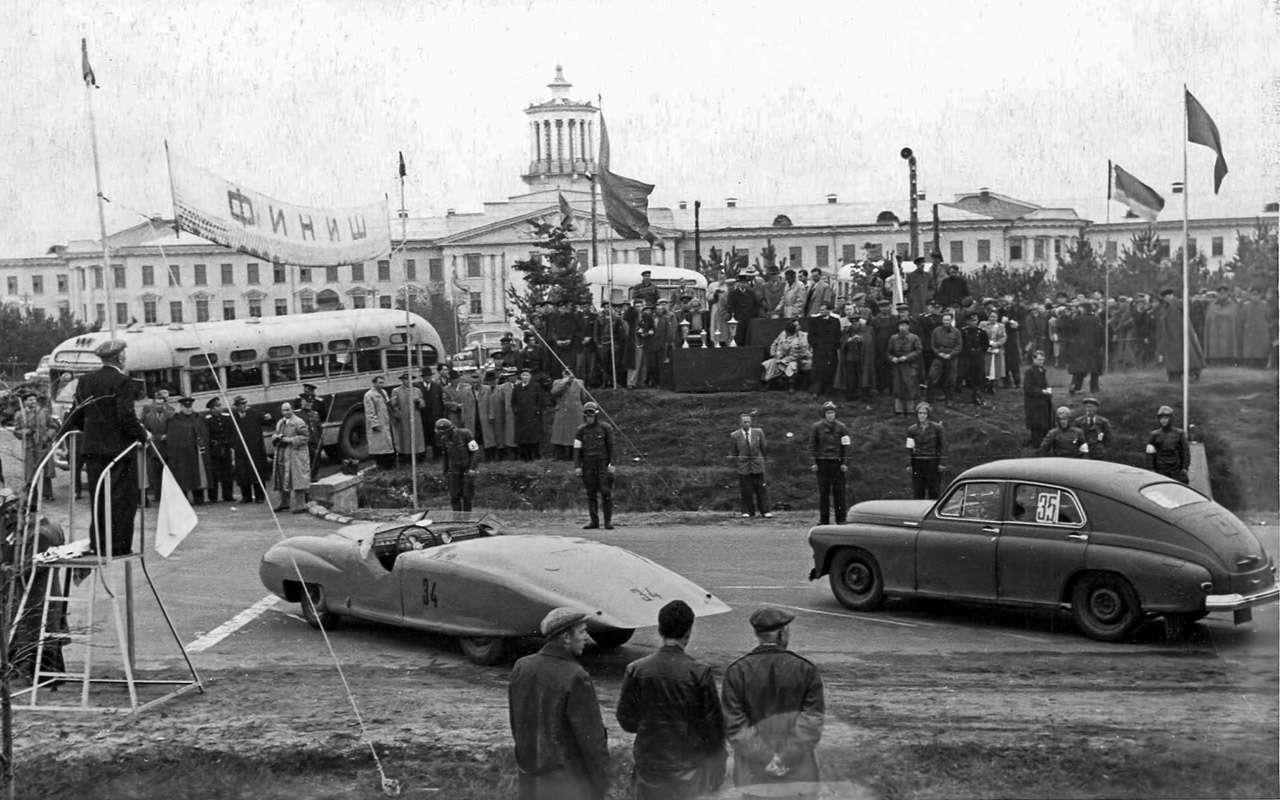 Циклоп, Победа-Спорт, Эстония-21...— самые быстрые спорткары СССР— фото 824423
