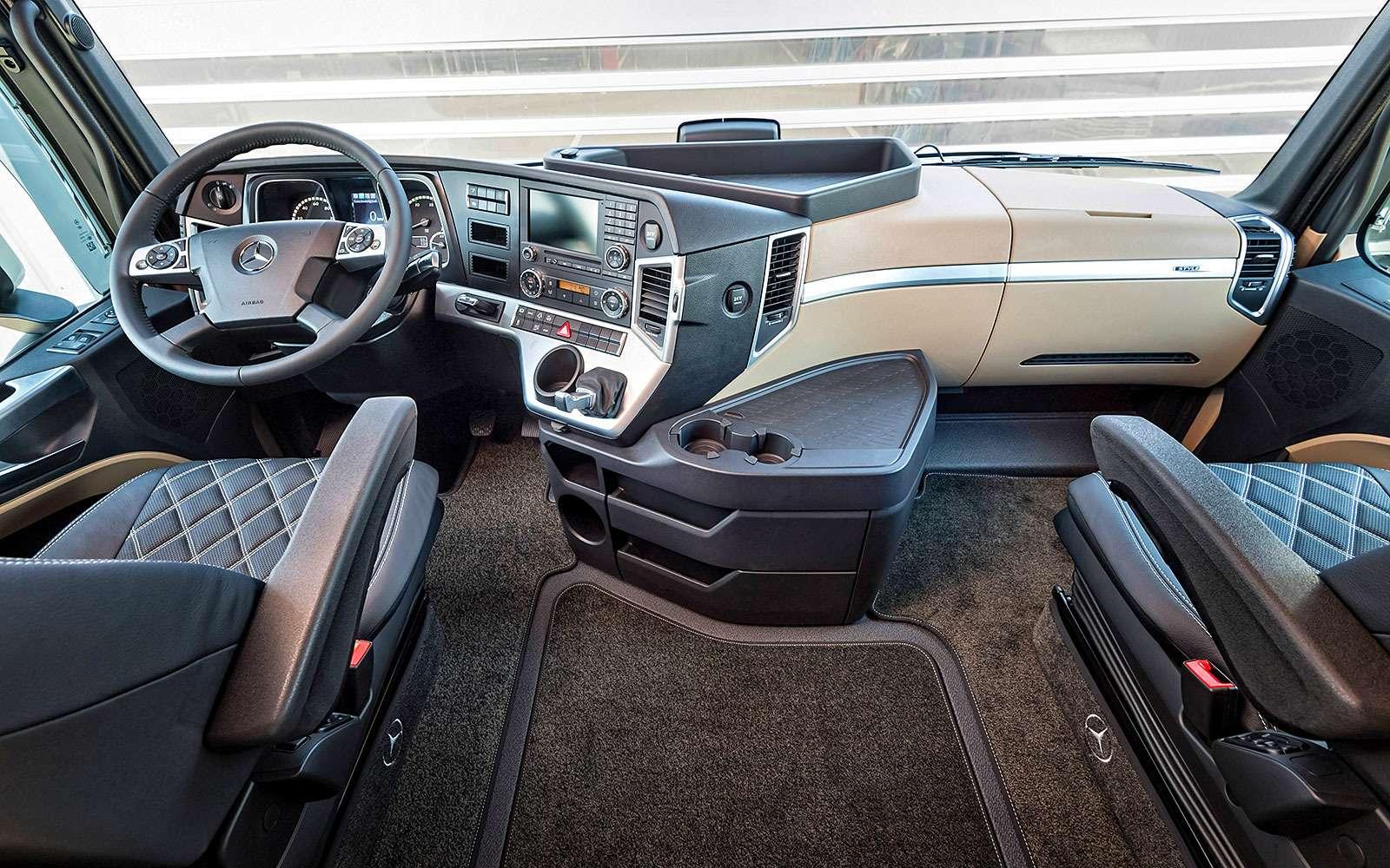 Грузовики Mercedes-Benz Actros: двадцать лет спустя— фото 624710