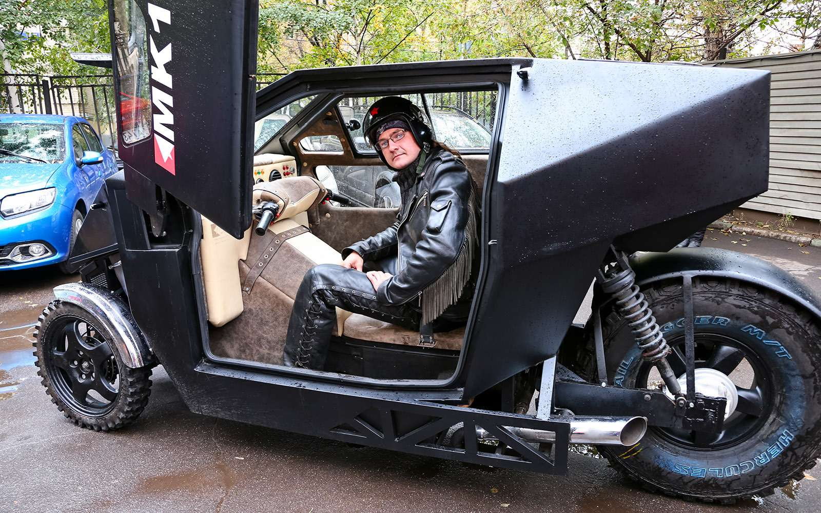 Трицикл МК-17: еще мотоцикл или уже автомобиль?— фото 680780