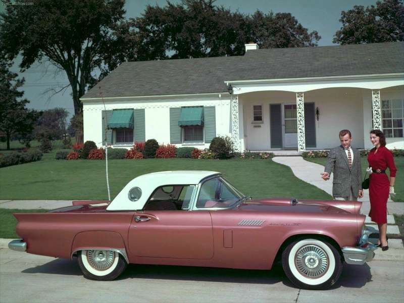 1957 Ford-Thunderbird